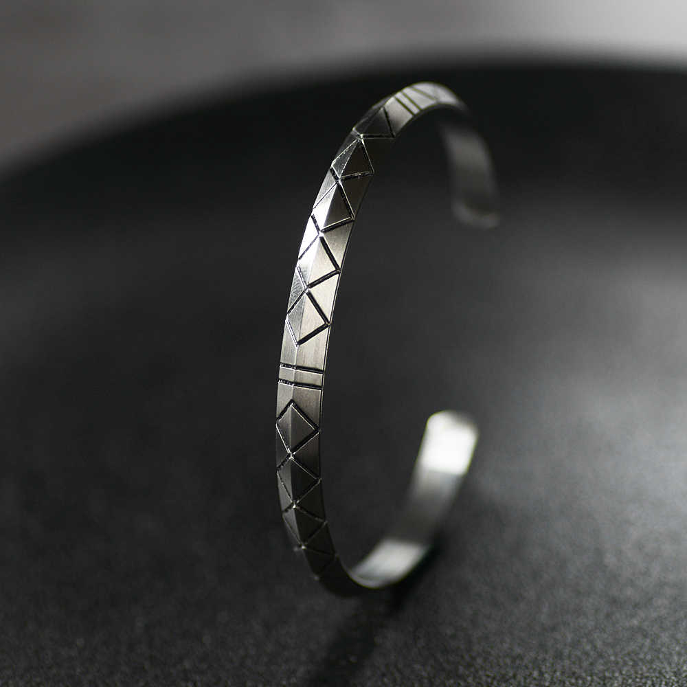 Norse Viking futhark bracelet Men Scandinavian Jewelry Vikings pagan Symbol for women Dropship Jewelry SS-104