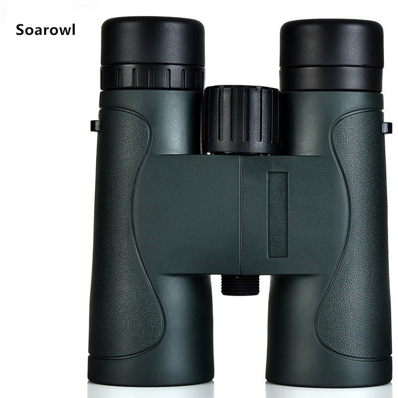 Binoculars bird watching adult military HD professional outdoor hunting telescope pocket size for travel Army green