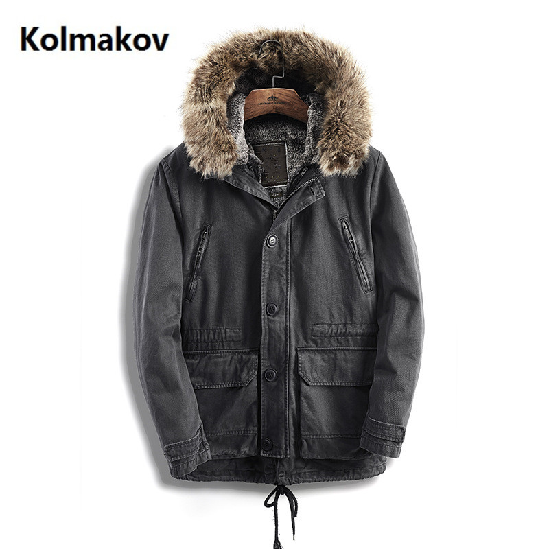 2018 Winter men jacket men high quality Men's down coat Fashion casual Hooded thicken Parkas Classic thickened coats