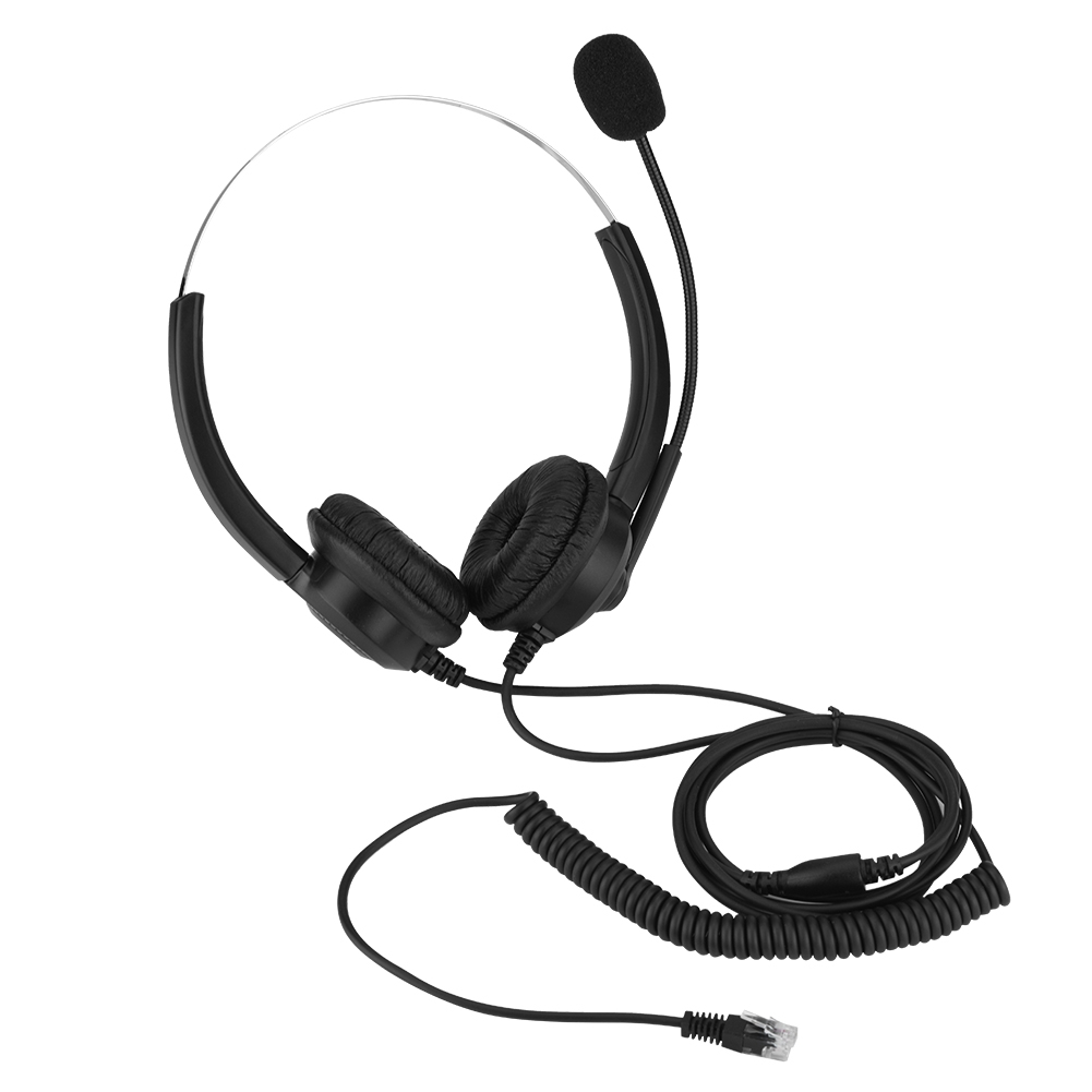 US $9 91 31% OFF|Lossless Sound Call Center Headphones for 10086 10000  10010 Mobile Phone Company 360 Rotary Earmuffs Call Center Headset-in