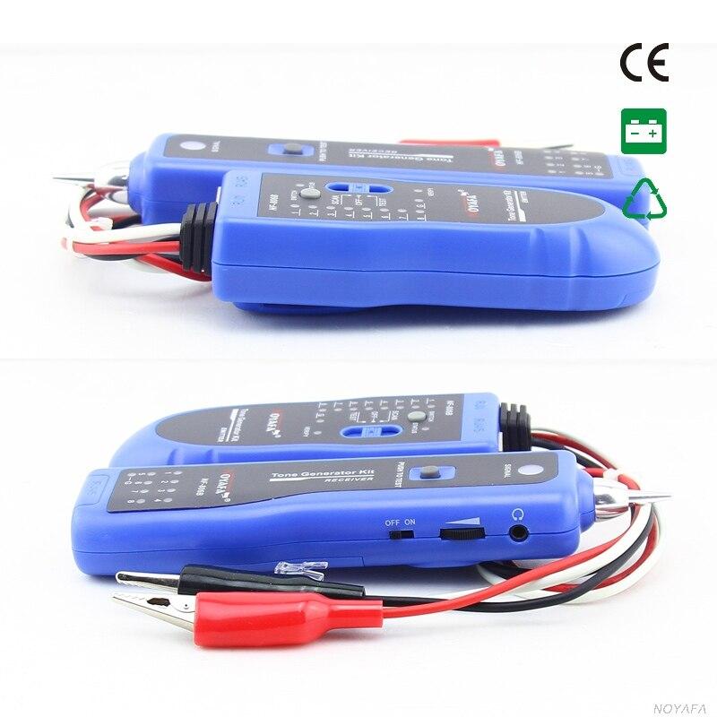 Original Noyafa NF-806 téléphone fil Tracker diagnostiquer tonalité trousse à outils LAN réseau câble testeur Cat5 Cat6 RJ45 UTP STP détecteur de ligne - 3