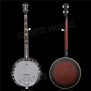 Afanti Music 5 Strings Left-hand Banjos (ABJ-99S)