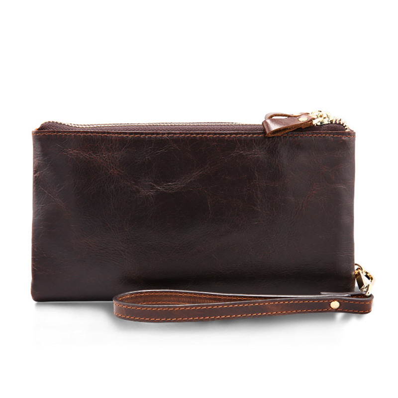 Men Wallet Double Zipper Bag Vintage PU Clutch Wallet Male Purse Large Capacity Men's Card Holder Coin Wallets Hot Sale 2016 hot fashion women wallets double zipper bag solid pu leather men long coin purse brand clutch lady cash hold phone card