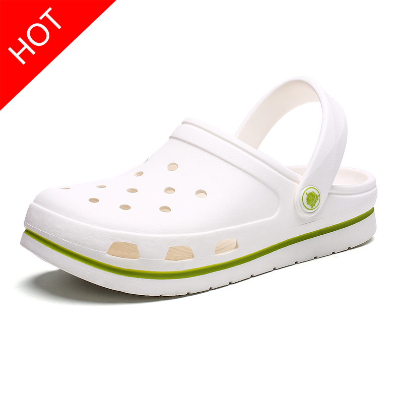 2019 Hot Sale Crocks Brand Clogs Women Sandals Crocse Shoe Croc EVA Lightweight Sandles Unisex Colorful Shoes for Summer Beach