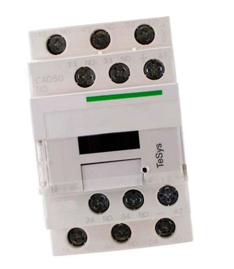 New CAD50BDC DC24V TeSys D series Contactor Control Relay 5NO+0NC new control relay cad series cad32 cad32bndc cad 32bndc 60v dc