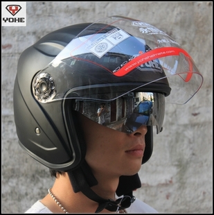 Motorcross Moto Racing Helmets YOHE yh-856 double lenses male Women electric bicycle ABS Motorbike Motorcycle helmet M L XL XXL wholesale denmark outdoor hunting decoy 50w decoy loud speaker bird caller hunting bird mp3 with 210 bird sounds