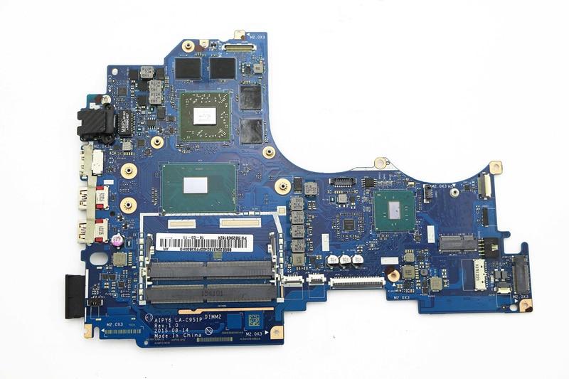 5B20K81624 AIPY6 LA C951P Motherboard w i7 6700HQ 2 6GHz CPU R9 M375 GPU for Lenvo