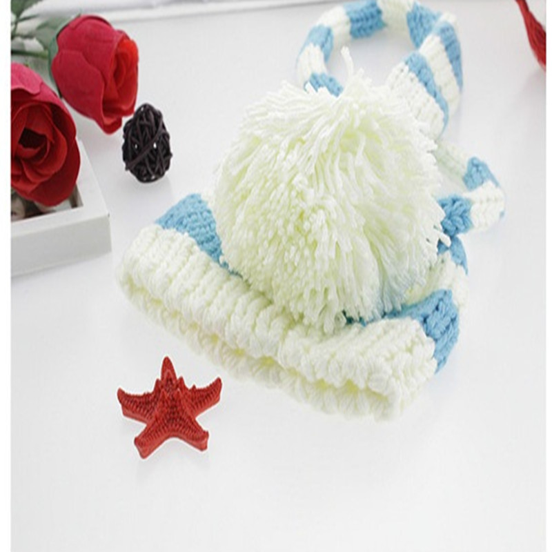 Dorable Crochet Patrón De Sombrero De Cola Larga Fotos - Ideas de ...