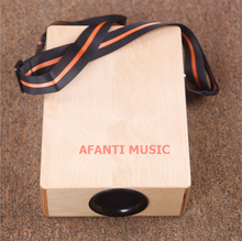Afanti Music Birch Wood / Natural Cajon Drum (KHG-210)