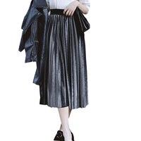 Prezent Gorąca Sprzedaż Rocznika Aksamitna Spódnica Piękna Nowość Śliczne Nowe Unikalne Hot Plisowana Dostawy