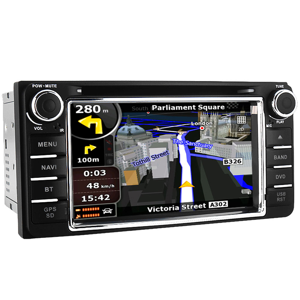 Witson C30 Car GPS DVD Player Head Unit Sat Nav for Toyota 4Runner / SW4 /  Hilux Surf 2003 2009 with Radio Stereo Player-in Car Multimedia Player from  ...