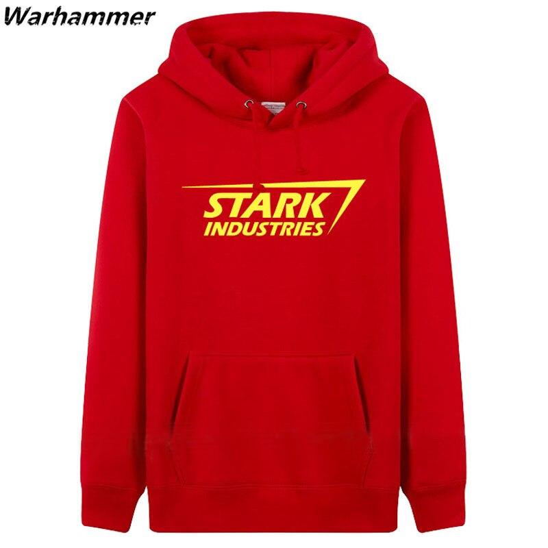 STARK INDUSTRIES Heren Hoodie Sweatshirts mode-stijl dikke fleece - Herenkleding - Foto 5