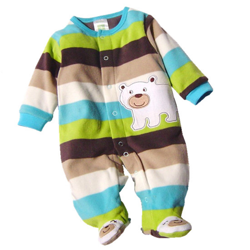 Baby Rompers Clothes 2017 Autumn Long sleeves Polar Fleece Newborn Boy Girl Next Body Baby Roupa Bebes Jumpsuit Clothing LC-08 baby rompers costumes fleece for newborn baby clothes boy girl romper baby clothing overalls ropa bebes next jumpsuit clothes
