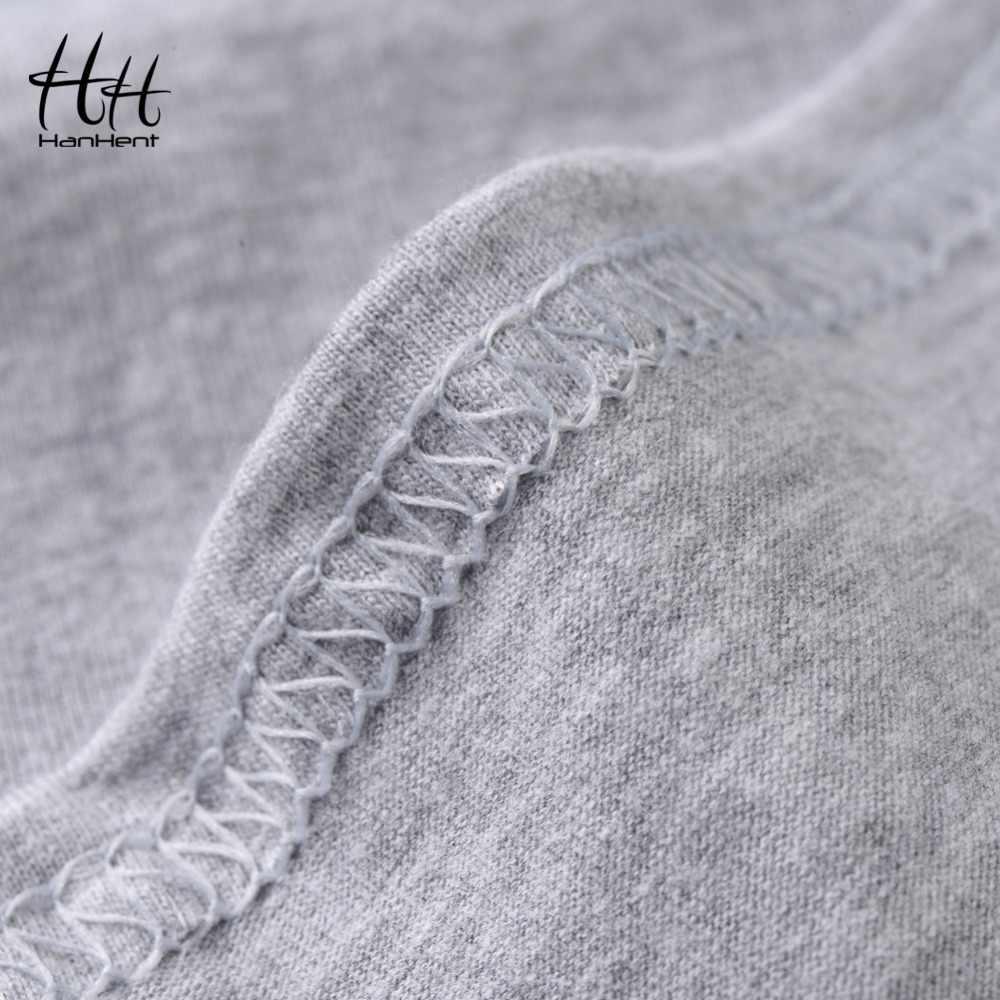 HanHent lokomotywa t-shirt z nadrukiem 2018 męskie Tee koszulki z krótkim rękawem lato moda Rock O-Neck luźne dorywczo mężczyzna T koszula T koszula Streetwear ubrania