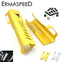 CNC Aluminum Motorcycle Radiator Side Guard Cover Protector Set Gold Silver For Yamaha MT09 MT 09
