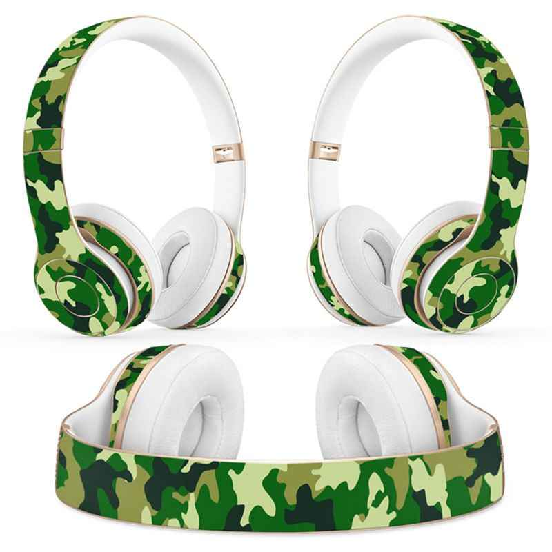 Protective Wrap Cover Sticker Universal Vinyl Decal Skin for Beats Solo 2 3  Wireless Headphone