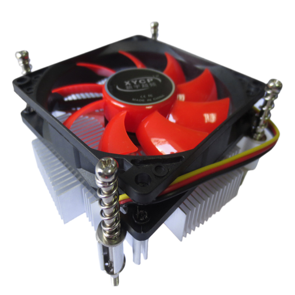 New In Stock Ultra-thin Professional CPU Cooler Heat Sink Radiator 12V DC Suitable for Intel Speed Up to 2200 + 10%RPM