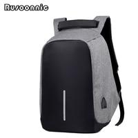 Rusoonnic Anti Theft Backpack Men Oxford Bag Retro Backpacks Escolar Bagpack Women Laptop School Bags Mochila