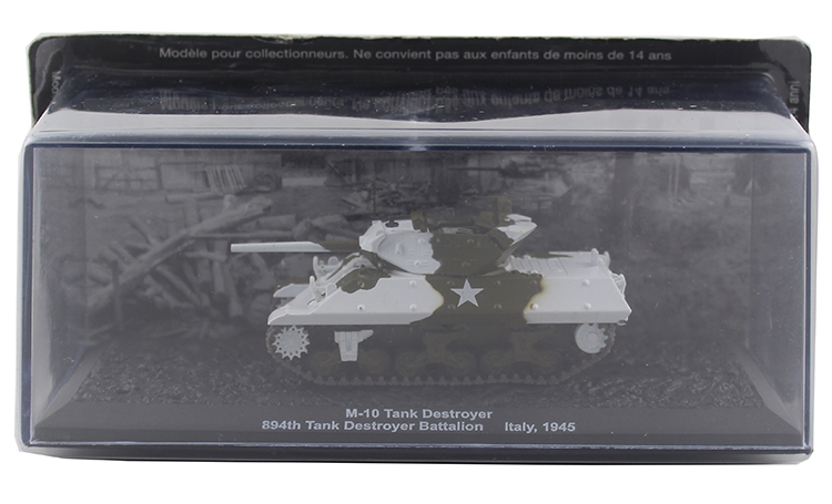 IXO 1/72 M-10, Tank, Destroyer, 894th tank model Alloy model Collection model Holiday gift