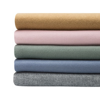 Autumn and winter thick double faced wool woolen fabric the cloth Solid color fabrics clothing coat fabric 720gsm
