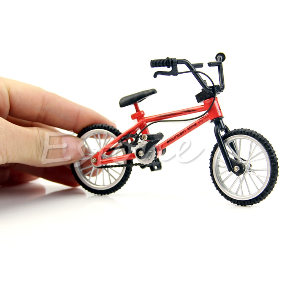 Chridren Fuctiona Mountain Finger Bike Fixie BMX Bicycle Boy Toy Creative Game