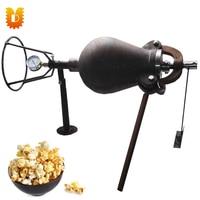 2.5kg/time Hand Popcorn Machine Rice Puffed Maize Popping Machine Old Popcorn Maker