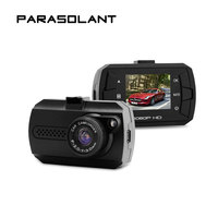 PARASOLANT IPS Screen DVR Full HD 1080P Dash Cam Night Vision LED Car Car DVRS 140