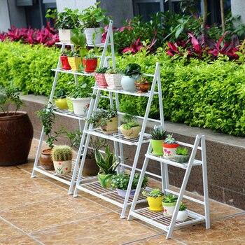 Ã�ーロッパスタイルマルチ階建て鉄折りたたみ床バルコニー折りたたみ花ラックリビングルーム植木鉢フレーム