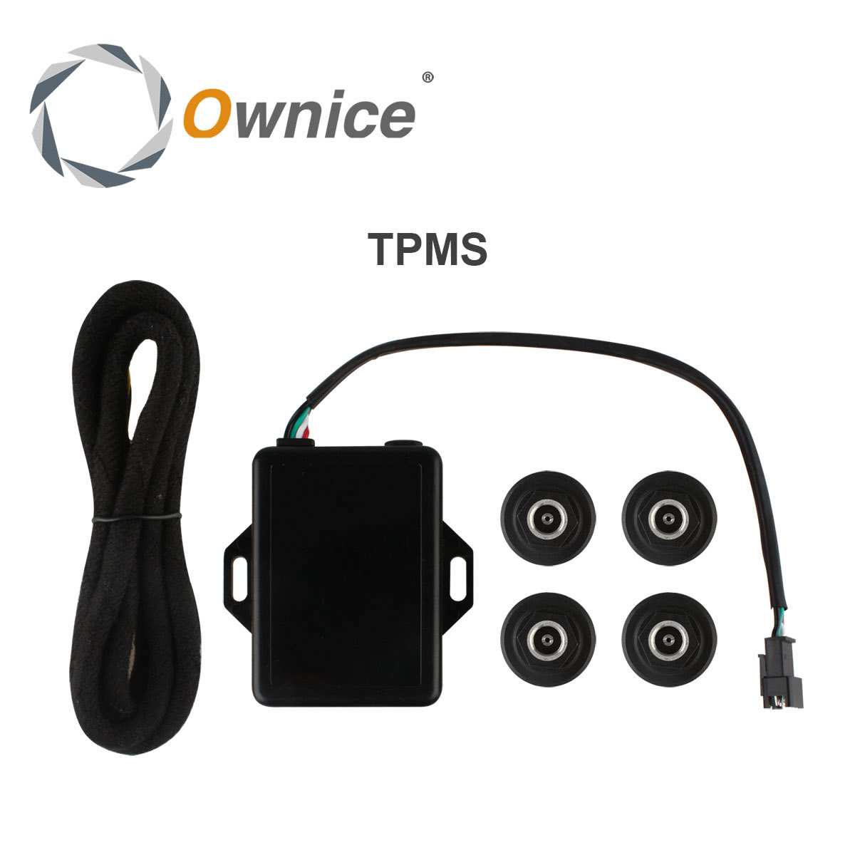Special Car Tire Pressure System Only for ownice display the tempreature and pressure with high degree accuracy the host 8 copy floor display with special riser