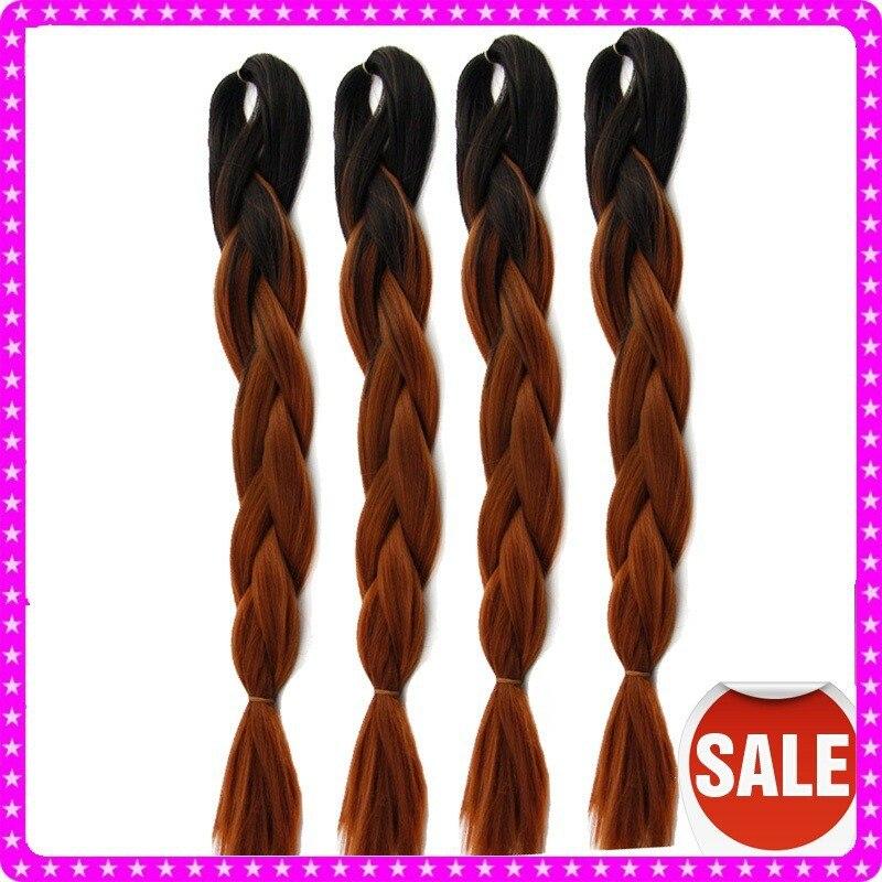 New arrival black brown aqua transitional fashion ombre hair 4pcs jumbo box braiding08 pmusecretfo Choice Image