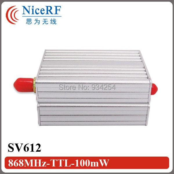 8 unids Industrial SV612 100 mW TTL Interfaz de 868 MHz RF módulo