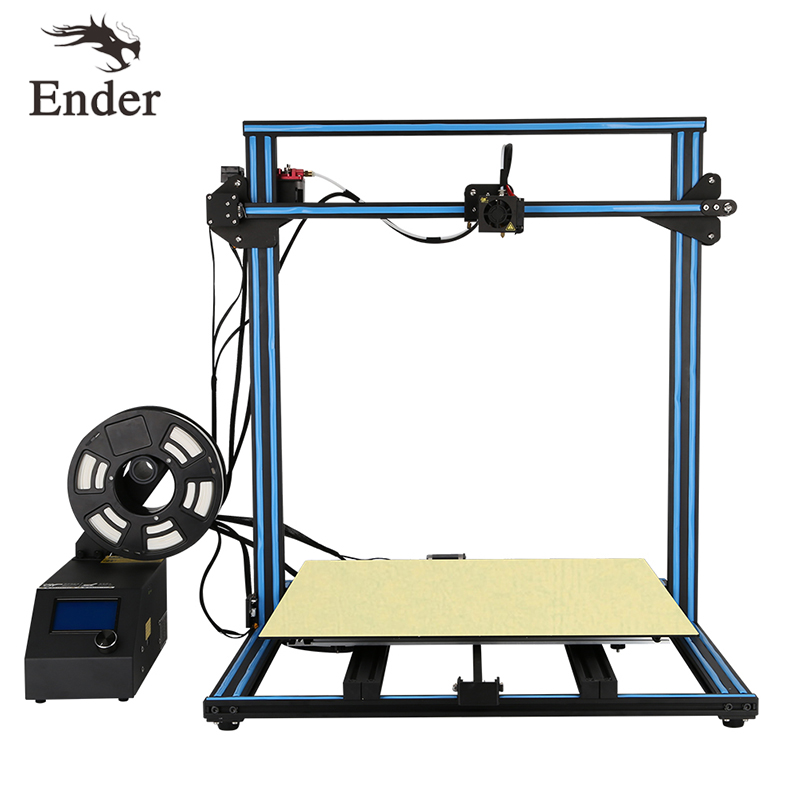 2018 CR-10/CR-10s 4s 5s 3D Printer KIT Dual Z Rod Filament Monitoring Alarm,Continuation Print Large print size Creality 3D core xy structure creality 3d ender 4 auto leveling 3d printer laser head 3d printer kit filament monitoring alarm potection