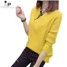 db0dba2cfb15 Promoción de Womens Yellow Sweater - Compra Womens Yellow Sweater ...