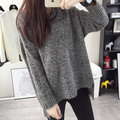 2016 Hot large size women pullover sweater women fashion knit sweater loose jumper