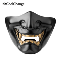 CoolChange Cycling Half Face Mask with Filter Anti Haze Dustproof Windproof Sports Bicycle Mask Breathable Motorcycle Bike Mask