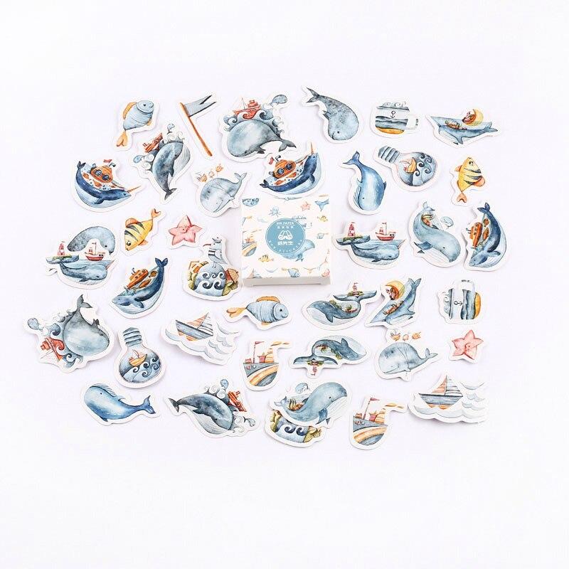 Mr. Бумаги 40 шт./кор. конфеты сказки деко наклейки для дневника Скрапбукинг планировщик японский Kawaii Декоративные Канцелярские наклейки - Цвет: L