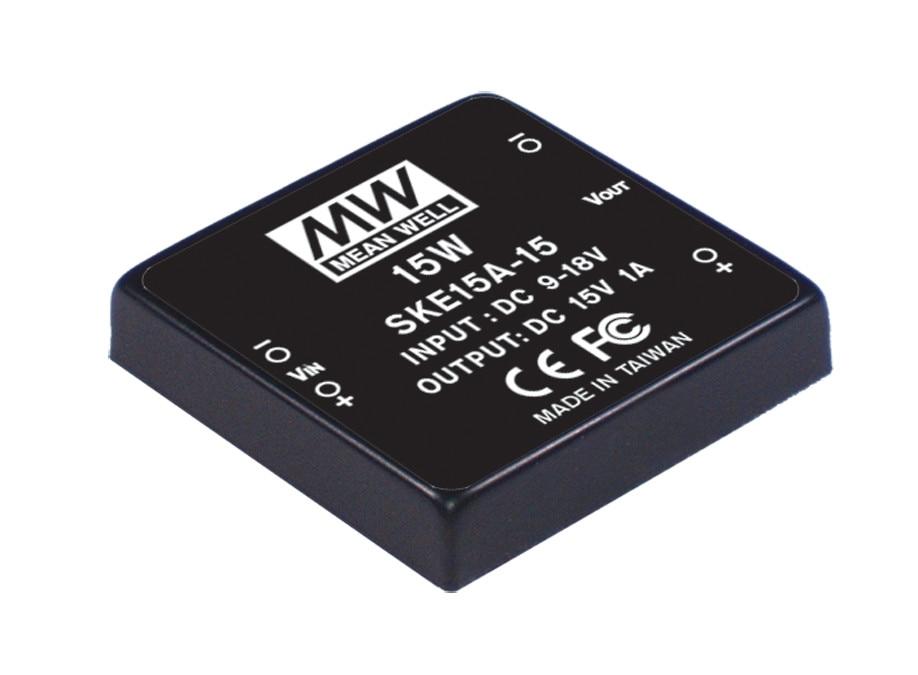 цена на [PowerNex] MEAN WELL original SKE15A-05 5V 3000mA meanwell SKE15 5V 15W DC-DC Regulated Single Output Converter