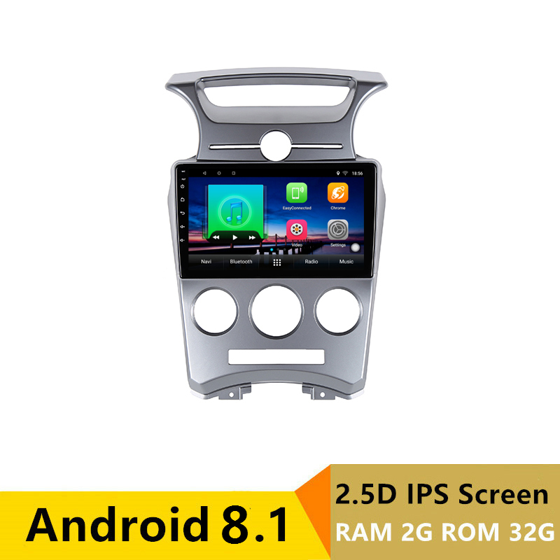 "9"" 2G RAM 32G ROM Android Car DVD Video Player GPS for kia Carens 2007 2008 to 2011 audio car radio stereo navigation wifi"