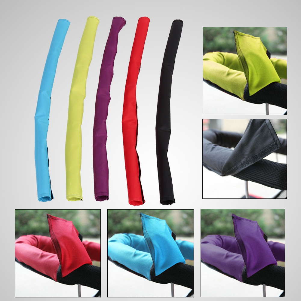 Baby Pram Stroller Accessories For Baby Armrest Handle Covers Pu Protective Case Cover For Babytime Wheelchairs