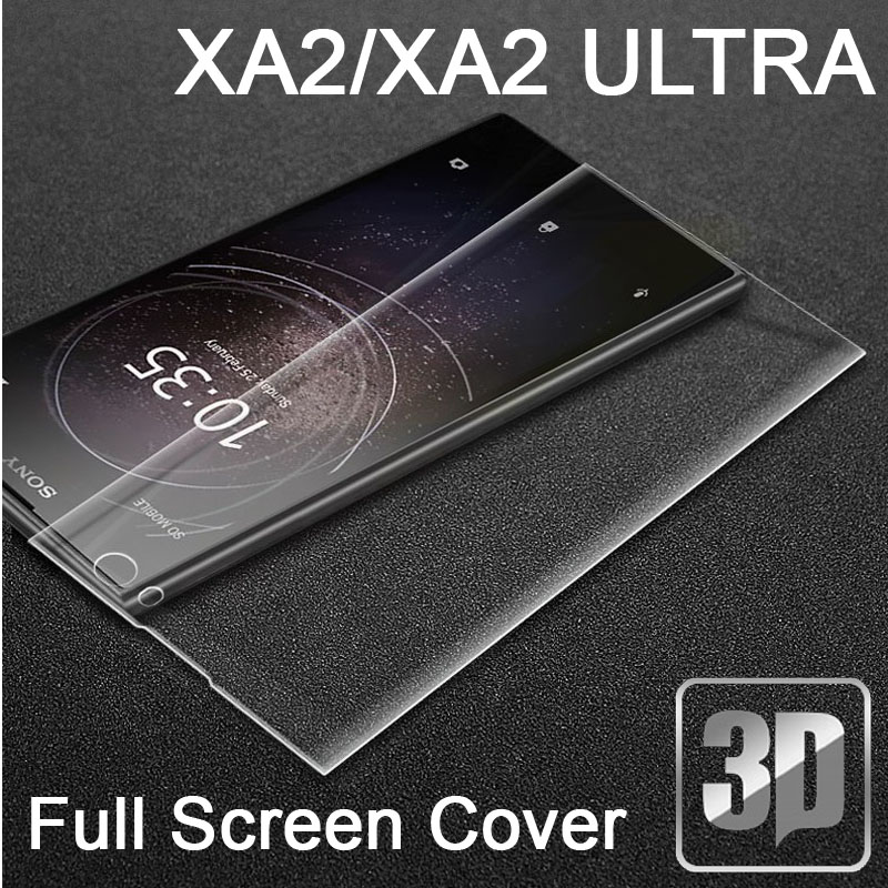 US $2.29 8% OFF|9H 3D Tempered Glass LCD Curved Full screen protectors Film cover For Sony Xperia XA2 XA2 Ultra H3113 H4213 Protective film-in Phone Screen Protectors from Cellphones & Telecommunications on AliExpress