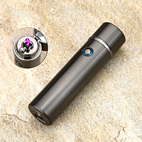 2017 New Electric double Pulse Arc Lighter Tobacco Pipe USB Lighter Smokeless Windproof Cigarette cigar lighters Rechargeable