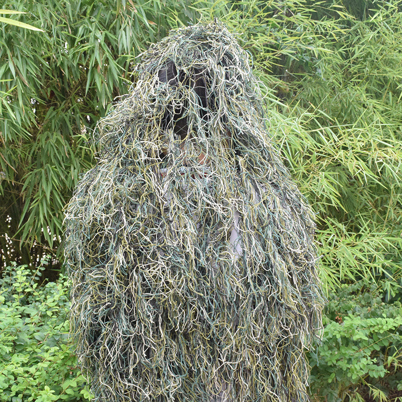 Image 2 - Durable Breathable Mesh Lining Jungle Camouflage Net Hunting Sniper Flapping Clothing Scouting Woodland HandMade Burlap Camo Net-in Blind & Tree Stand from Sports & Entertainment
