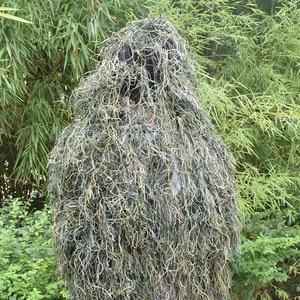 Image 2 - חליפת Ghillie מדבר עמיד לנשימה רשת רירית ציד ההסוואה צלף צופיות צלף חורש סט ערכות