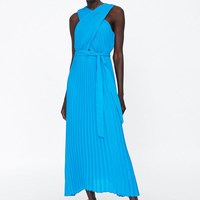 ee6d1be4b898d Sexy Deep V neck Spaghetti Strap Stretch Midi Dress 2016 New Women Brandy  Melville AA Package Hips Side Slit Dresses 9 colors