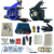 Tatuaje tatuaje completo kit de alimentación + poot pedal + 2 apretones de aleación + accesorios 8 kitB