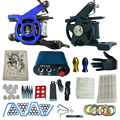 tattoo complete tattoo kit power supply+poot pedal+2 alloy grips+accessories 8kitB