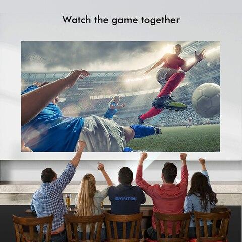 159.99$ Clearance Sale BYINTEK Brand BL127 Cinema Game full HD LCD LED Video Projector GP100,F40 Karachi