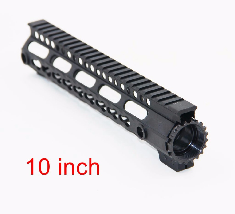 Hunting Shooting Accessories Rail Paintball Airsoft 10 inch One Rail Float Quad Rail Handguard Picatinny for AEG M16 M4 AR-15 paintball airsoft accessorie 15 m16 m4 ar 15 quad rail handguard free float hunting aeg rails mount 15 picatinny quad rail