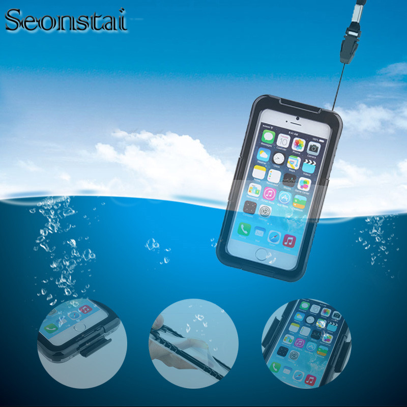 Iphone X Waterproof Case | Water Resistant Case For IPhone X Waterproof Cases For IPhone 7 6s Plus Underwater Dive Bag For IPhone 8 Plus Cover Coque Fundas