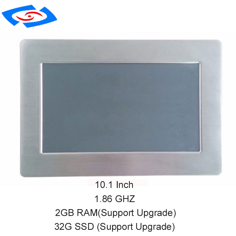 Image 4 - Fanless 10.1 inch Industrial Touch Screen Panel PC With 2xLAN 2x10/100/1000Mbps RJ45 RTL8111E 2xUSB2.0 2xCOM RS232-in Mini PC from Computer & Office